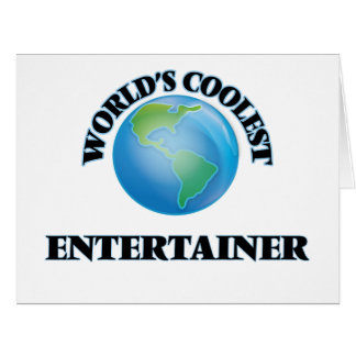 World's coolest Entertainer Cards