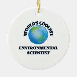 World's coolest Environmental Scientist Ceramic Ornament