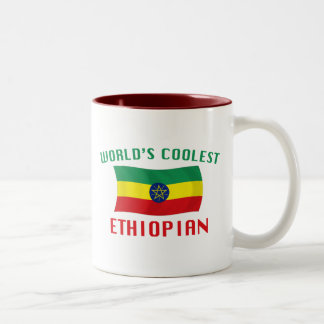 World's Coolest Ethiopian Two-Tone Coffee Mug