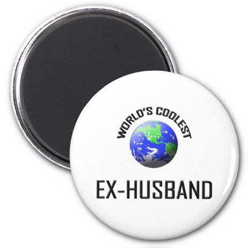 World's Coolest Ex-Husband 2 Inch Round Magnet