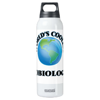 World's coolest Exobiologist 16 Oz Insulated SIGG Thermos Water Bottle
