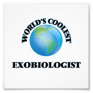 World's coolest Exobiologist Photographic Print