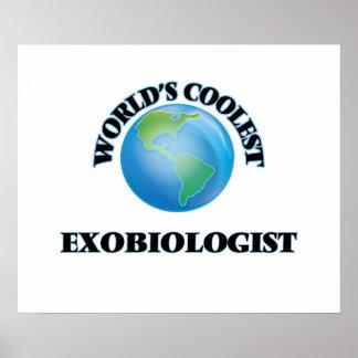 World's coolest Exobiologist Poster