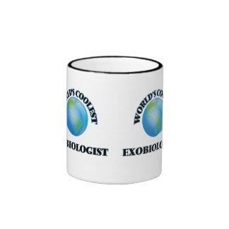 World's coolest Exobiologist Ringer Coffee Mug