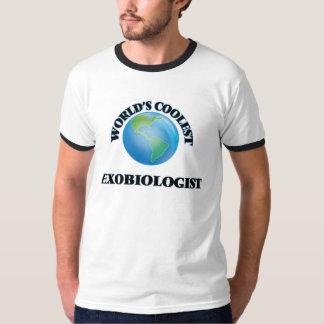 World's coolest Exobiologist Tee Shirt