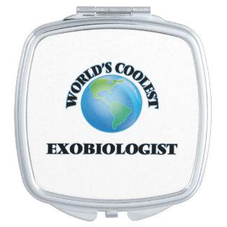 World's coolest Exobiologist Vanity Mirrors