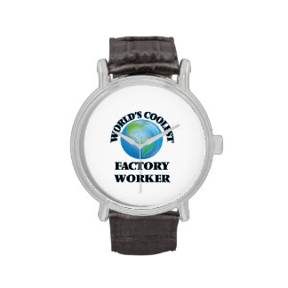 World's coolest Factory Worker Wristwatches