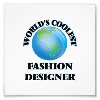 World's coolest Fashion Designer Photo Print