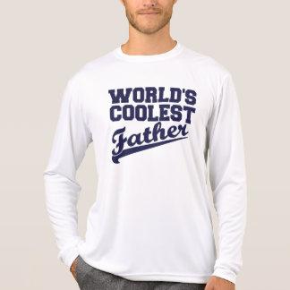 World's Coolest Father (Blue) T Shirt