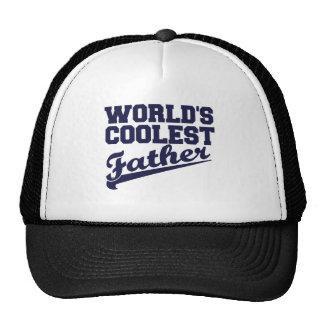 World's Coolest Father (dark blue) Trucker Hat