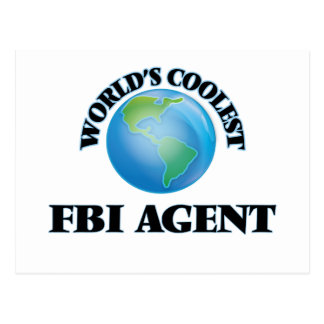 World's coolest Fbi Agent Postcards