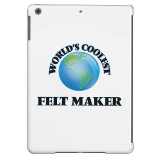 World's coolest Felt Maker iPad Air Cover