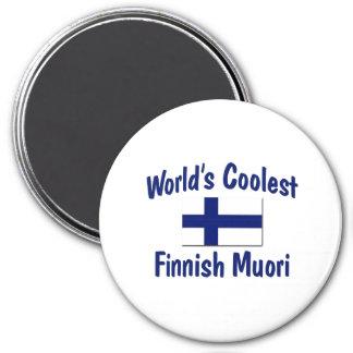 World's Coolest Finnish Muori 3 Inch Round Magnet