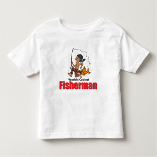 World's Coolest Fisherman Toddler T-shirt