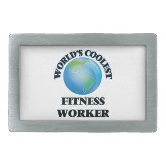 World's coolest Fitness Worker Belt Buckles