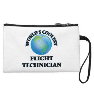 World's coolest Flight Technician Wristlet Clutch