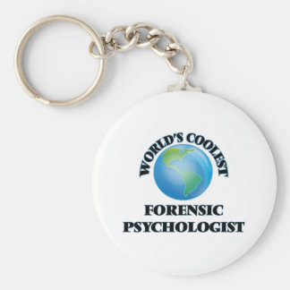World's coolest Forensic Psychologist Keychain