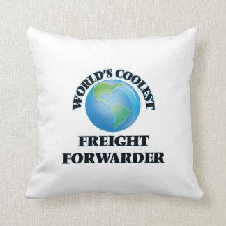 World's coolest Freight Forwarder Throw Pillows