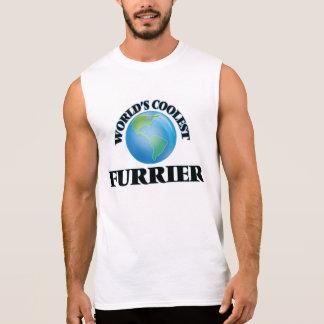 World's coolest Furrier Sleeveless T-shirt