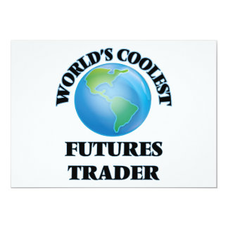 World's coolest Futures Trader Customized Invitation Card