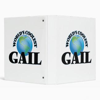 World's Coolest Gail Vinyl Binder