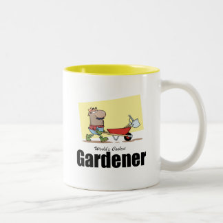 World's Coolest Gardener Two-Tone Coffee Mug