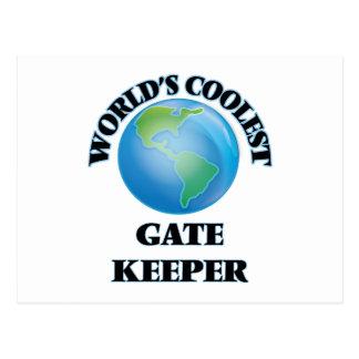 World's coolest Gate Keeper Postcard