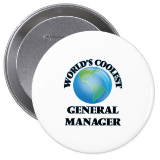 World's coolest General Manager Buttons