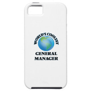 World's coolest General Manager iPhone 5 Cases