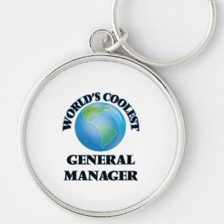 World's coolest General Manager Key Chains
