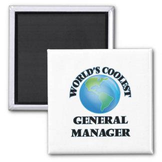 World's coolest General Manager Fridge Magnet