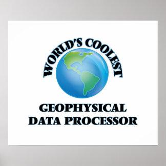 World's coolest Geophysical Data Processor Poster
