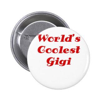 Worlds Coolest Gigi 2 Inch Round Button