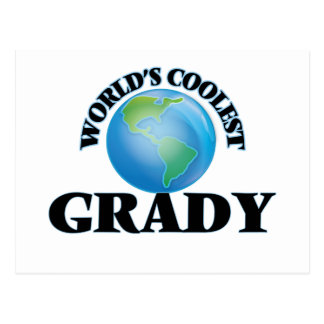 World's Coolest Grady Postcards