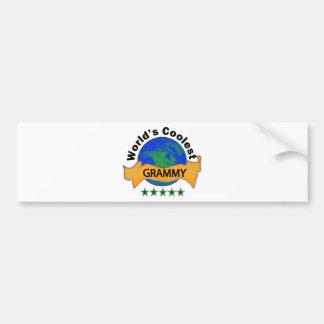 World's Coolest Grammy Bumper Sticker