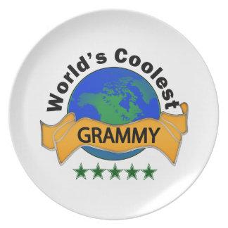 World's Coolest Grammy Dinner Plate