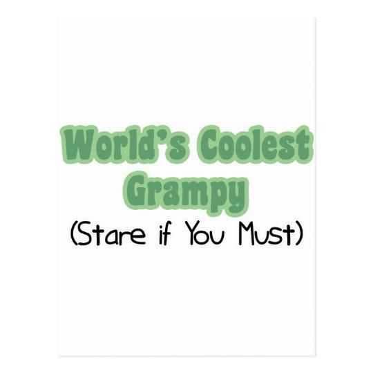 World's Coolest Grampy Postcard