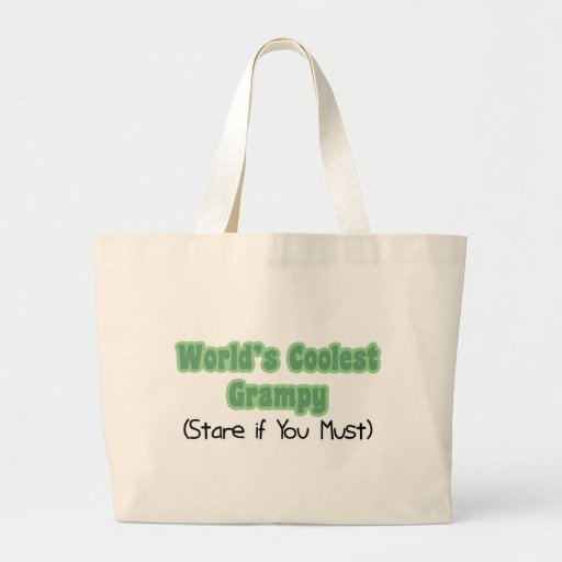 World's Coolest Grampy Tote Bags