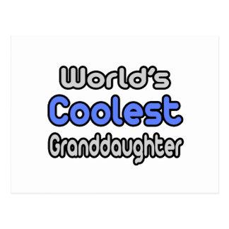 World's Coolest Granddaughter Postcard