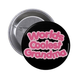 Worlds Coolest Grandma 2 Inch Round Button