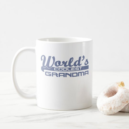 World's Coolest Grandma Coffee Mug