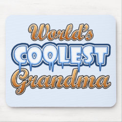 Mousepad with World's Coolest Grandma design