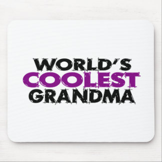 Worlds Coolest Grandma Mouse Pad