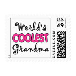 World's Coolest Grandma Postage