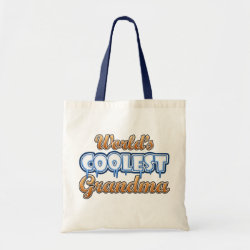 Budget Tote with World's Coolest Grandma design