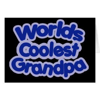 Worlds Coolest Grandpa Card