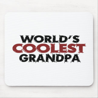Worlds Coolest Grandpa Mouse Pad