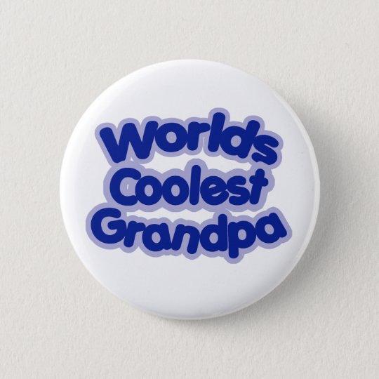 Worlds Coolest Grandpa Pinback Button