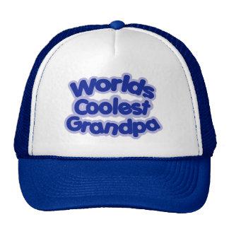Worlds Coolest Grandpa Trucker Hat