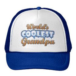 Trucker Hat with World's Coolest Grandpa design